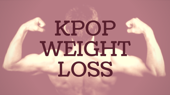 How to achieve Kpop weight loss